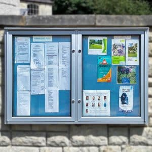Varicase Double Wall Noticeboard
